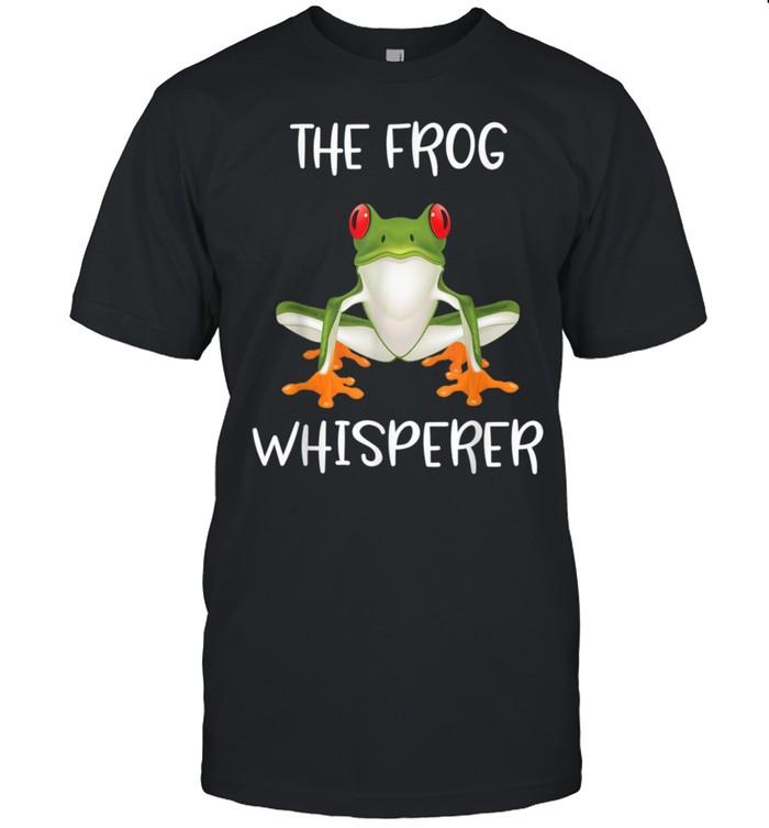 The Frog Whisperer Novelty Frog shirt Classic Men's T-shirt