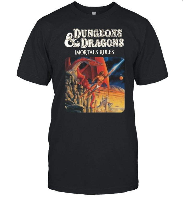 Dungeons and Dragons Immortals Rules shirt Classic Men's T-shirt