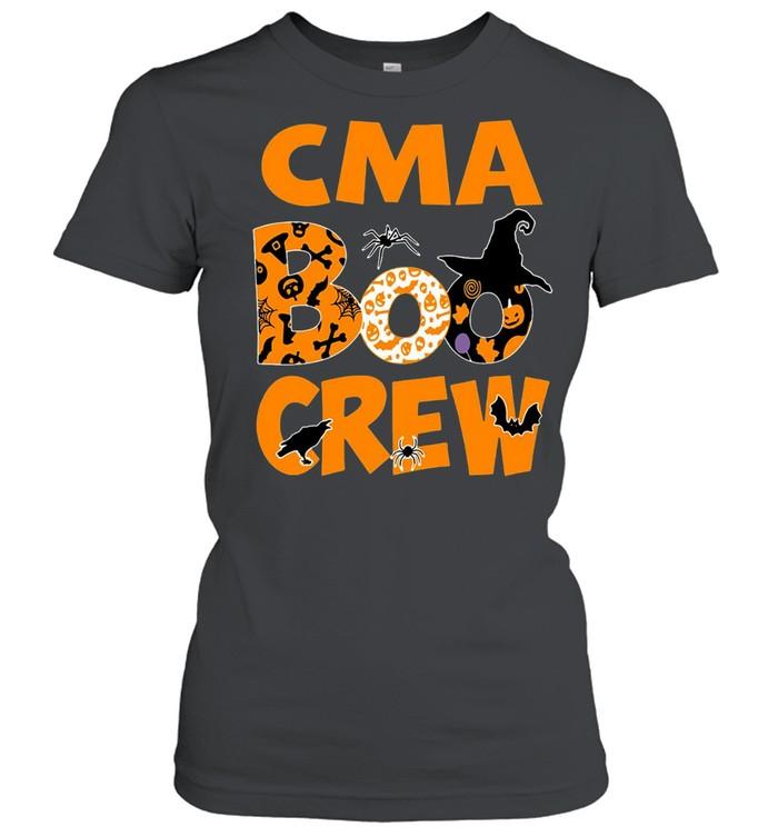 Halloween Nurse CMA Boo Crew Witch T-shirt Classic Women's T-shirt