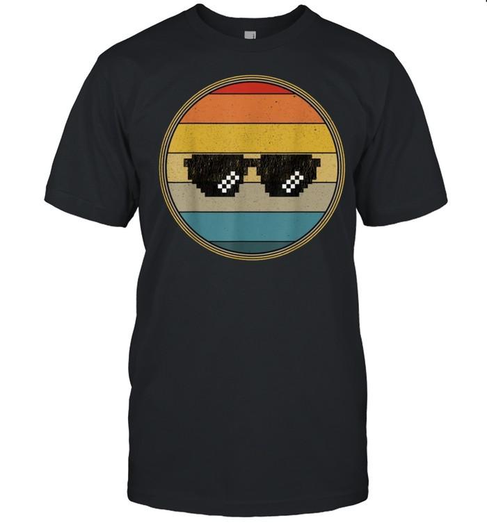 Pixelated Thug Distressed Vintage shirt Classic Men's T-shirt