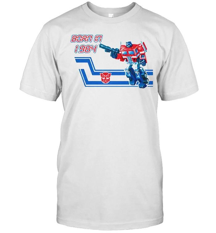 Transformers Optimus Prime born in 1984 shirt Classic Men's T-shirt