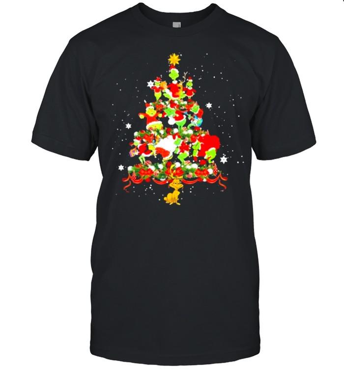 The Grinch Happy Christmas Tree  Classic Men's T-shirt
