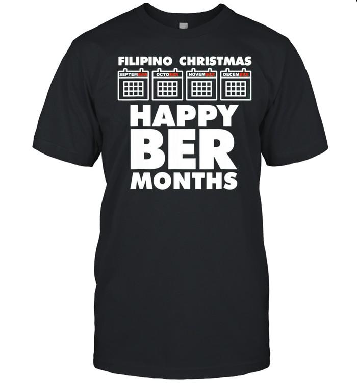 Filipino Christmas Happy Beer Months shirt Classic Men's T-shirt