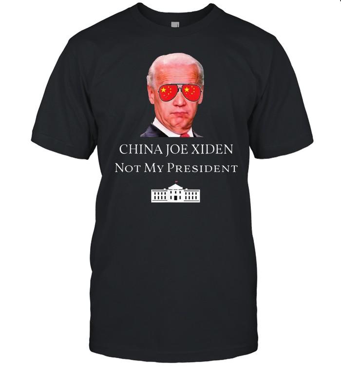 China Joe Biden Not My President Anti Joe Biden China Tee  Classic Men's T-shirt