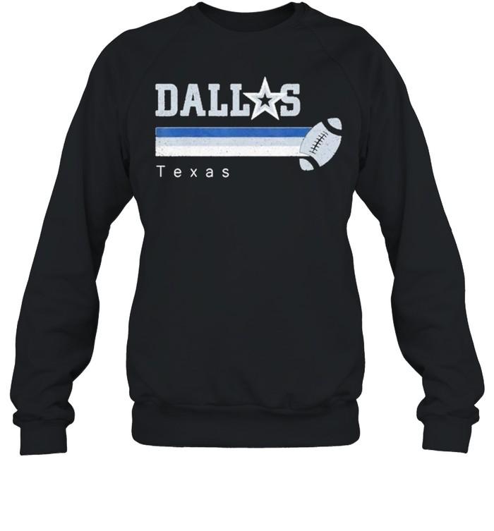 Dallas Football retro Texas at sunday gameday shirt Unisex Sweatshirt