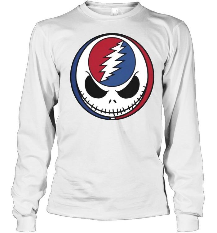 Jack Skellington Grateful Dead shirt Long Sleeved T-shirt