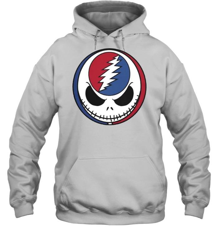 Jack Skellington Grateful Dead shirt Unisex Hoodie