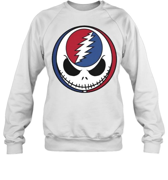 Jack Skellington Grateful Dead shirt Unisex Sweatshirt