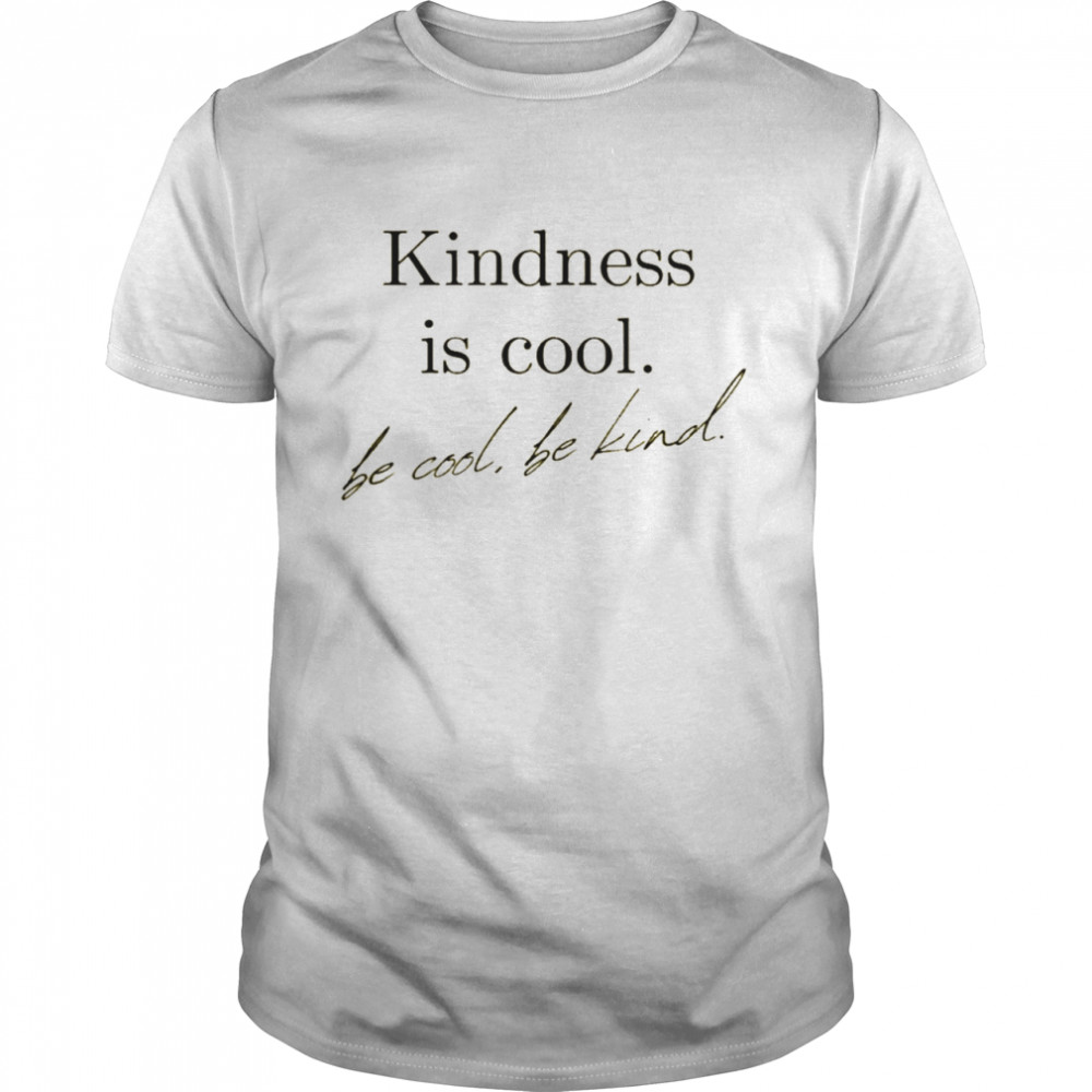 yellow inspirational graphic be kind shirt Classic Men's T-shirt