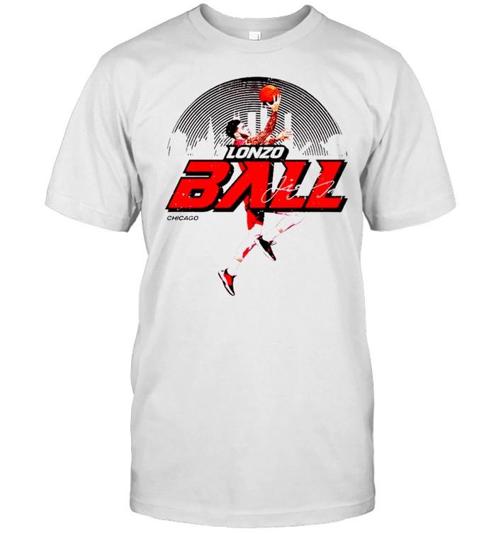 Lonzo Ball Chicago Basketball signature shirt Classic Men's T-shirt