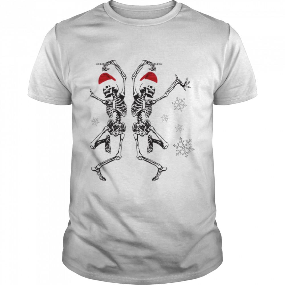Christmas Skeleton Dancing shirt Classic Men's T-shirt