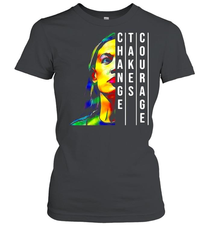 Alexandria Ocasio Cortez Aoc Feminist Political T-shirt Classic Women's T-shirt