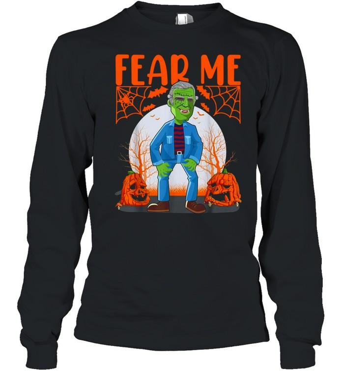 Biden Vampire Halloween Fear Me Long Sleeved T-shirt