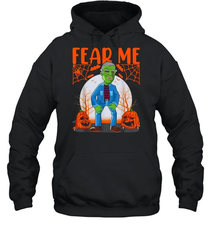 Biden Vampire Halloween Fear Me Unisex Hoodie