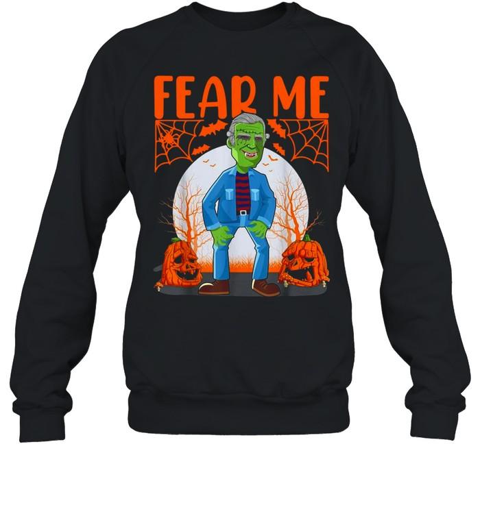 Biden Vampire Halloween Fear Me Unisex Sweatshirt