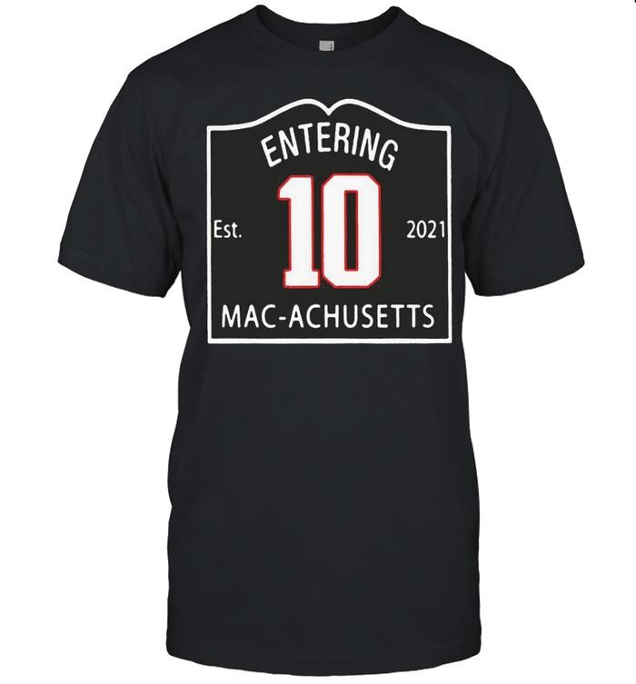 entering macachusetts shirt Classic Men's T-shirt