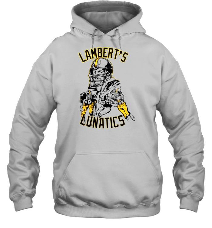 Jack Lambert Lambert's Lunatics Pittsburgh shirt Unisex Hoodie