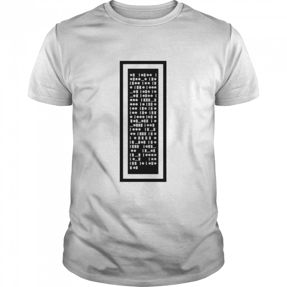 Morse Code all endings are also beginnings shirt Classic Men's T-shirt