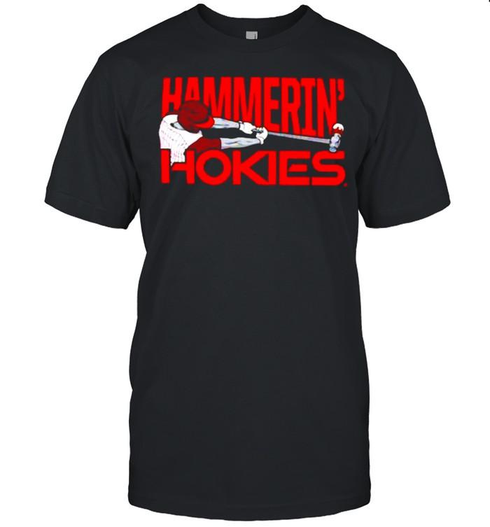 Virginia Tech Athletics Hammerin Hokies shirt Classic Men's T-shirt
