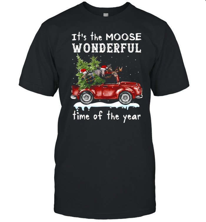 It's The Moose Wonderful Time Of The Year  Classic Men's T-shirt