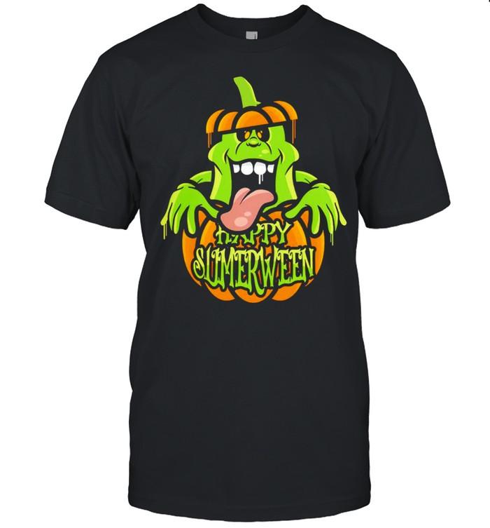 Happy Slimerween Halloween shirt Classic Men's T-shirt