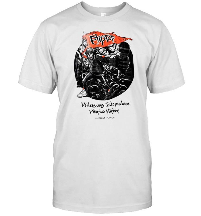 Fliptop Mautiny Ang Independent Filipino Hip Hop Hypebeast Fliptop T-shirt Classic Men's T-shirt