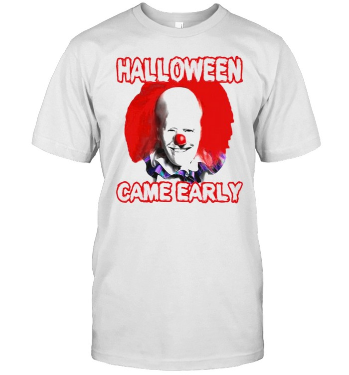 Pennywise Biden halloween came early shirt Classic Men's T-shirt