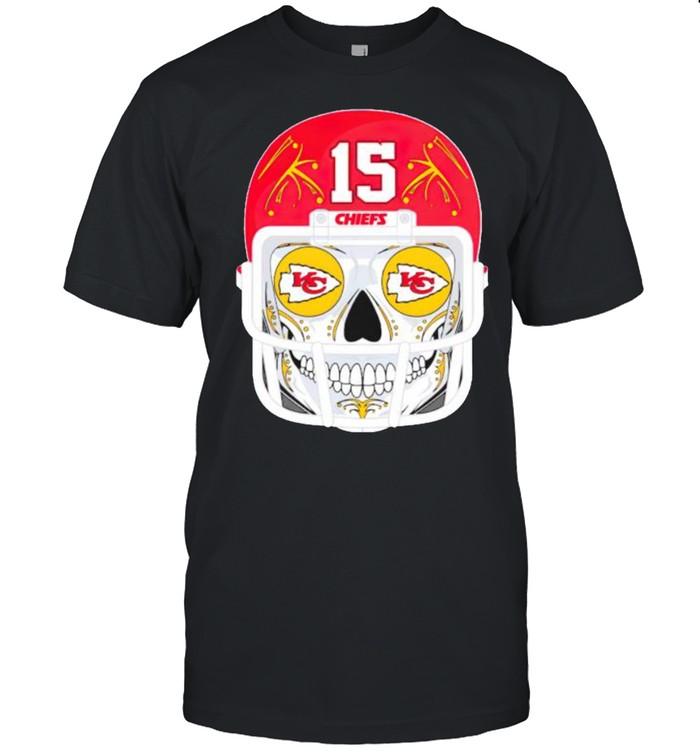 Sugar skull Chiefs Patrick Mahomes shirt Classic Men's T-shirt