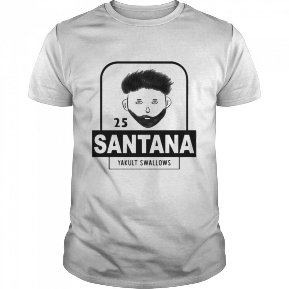 25 Santana Yakult Swallows  Classic Men's T-shirt
