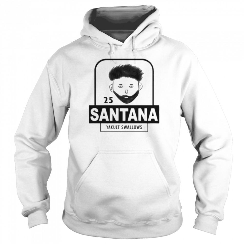 25 Santana Yakult Swallows  Unisex Hoodie