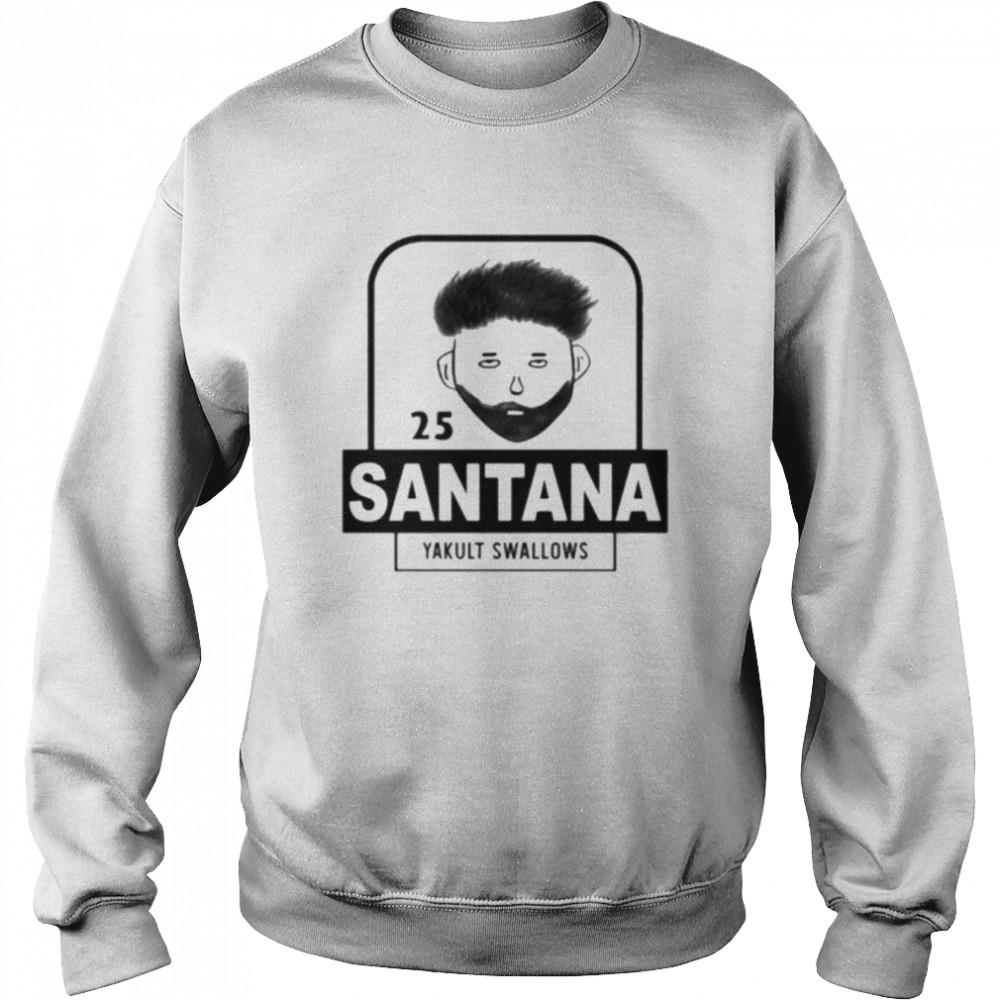 25 Santana Yakult Swallows  Unisex Sweatshirt