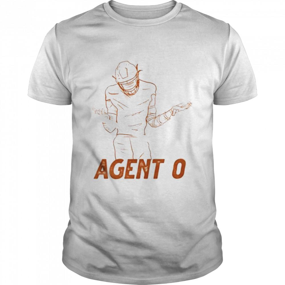 Agent 0 baseball shirt Classic Men's T-shirt