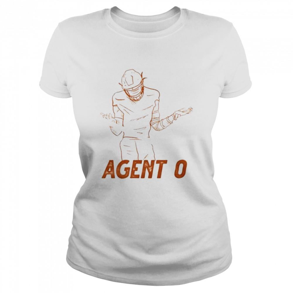 Agent 0 baseball shirt Classic Women's T-shirt