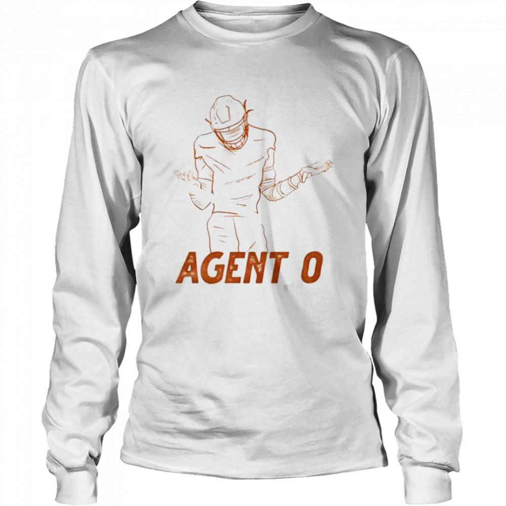 Agent 0 baseball shirt Long Sleeved T-shirt