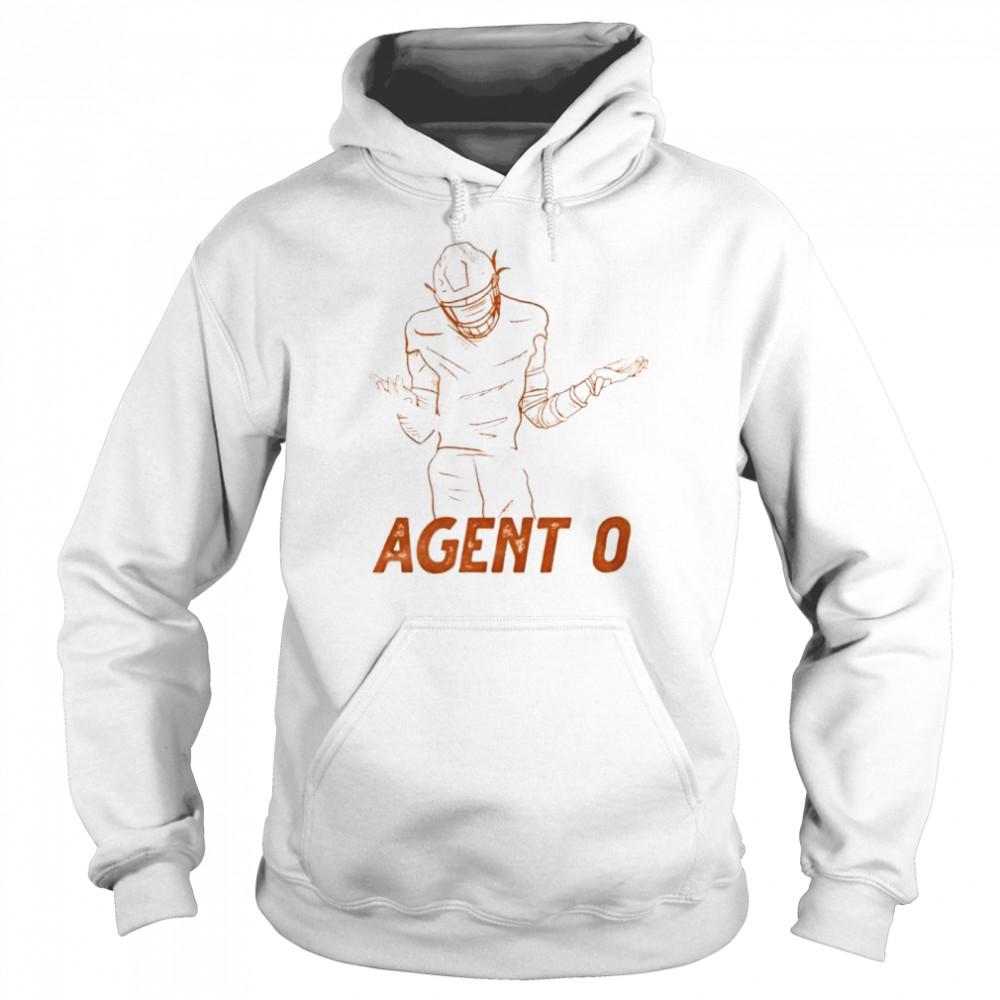 Agent 0 baseball shirt Unisex Hoodie