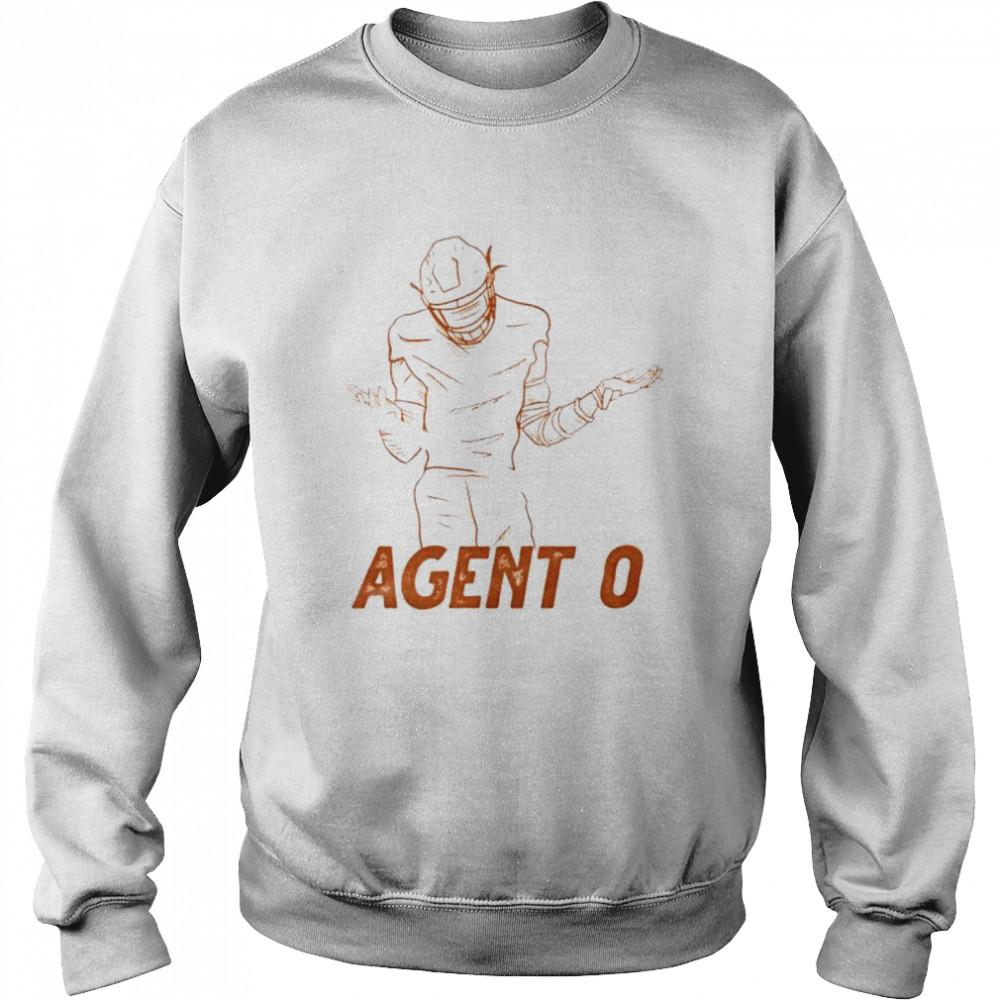 Agent 0 baseball shirt Unisex Sweatshirt