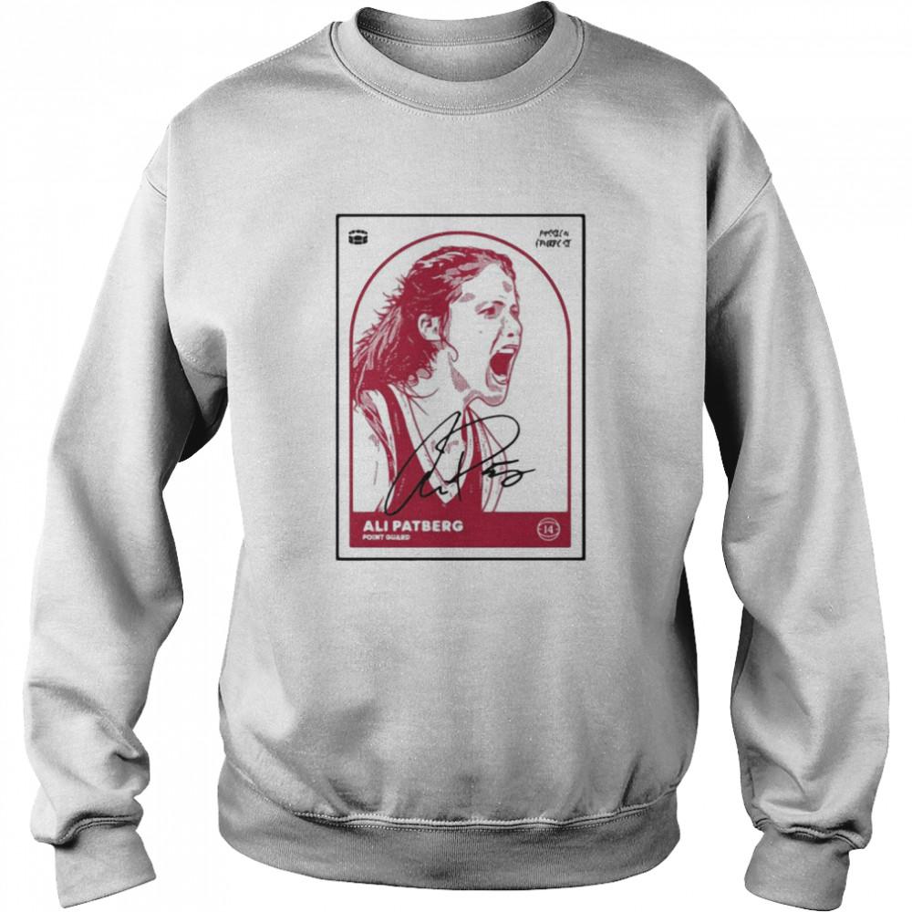 Ali Patberg Passion Purpose Basketball Player T-shirt Unisex Sweatshirt