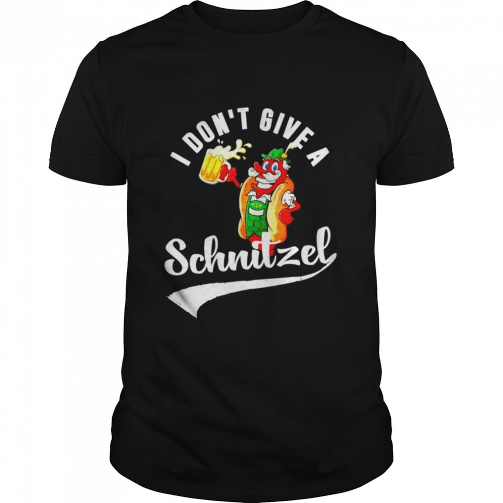 I don't give a Schnitzel shirt Classic Men's T-shirt