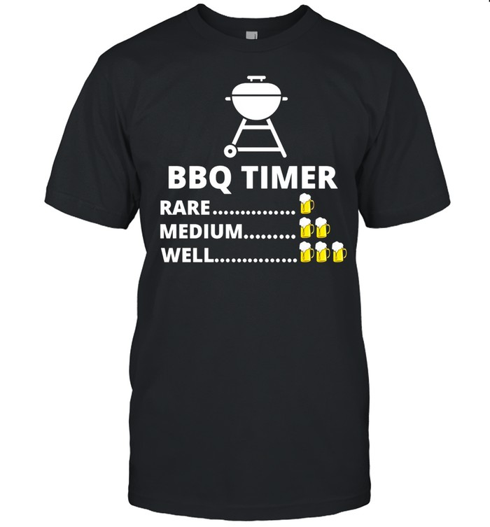 BBQ Timer Barbecue Grill Grilling shirt