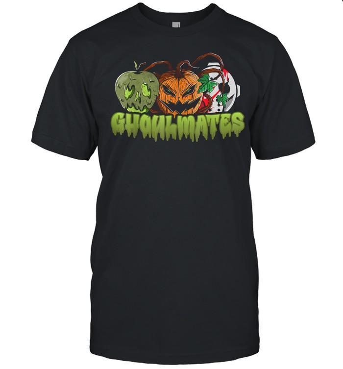 Ghoulmates Halloween Soulmates Pun shirt Classic Men's T-shirt