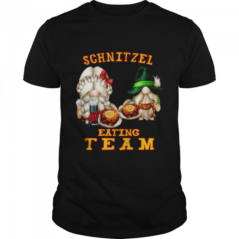 Gnomes Schnitzel Eating Team T-shirt Classic Men's T-shirt