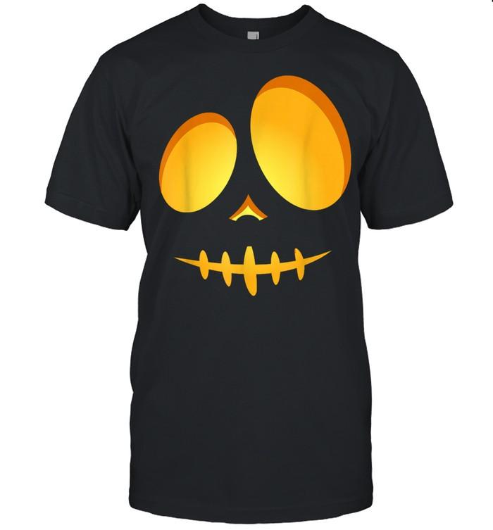 Halloween Costume Fun JackOLantern Scary Carved Pumpkin Face shirt Classic Men's T-shirt