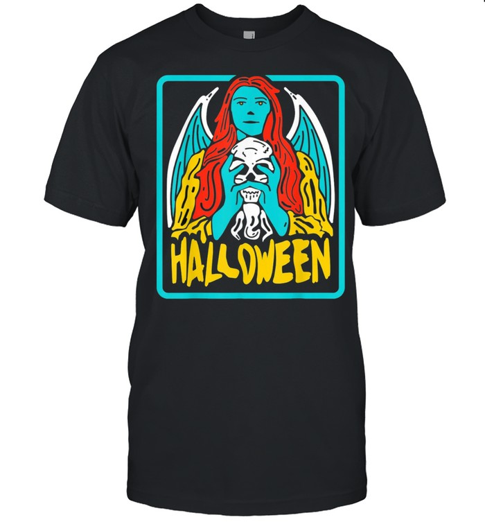 Halloween evil Witch Costume Tarot Card Occult Witchcraft shirt Classic Men's T-shirt