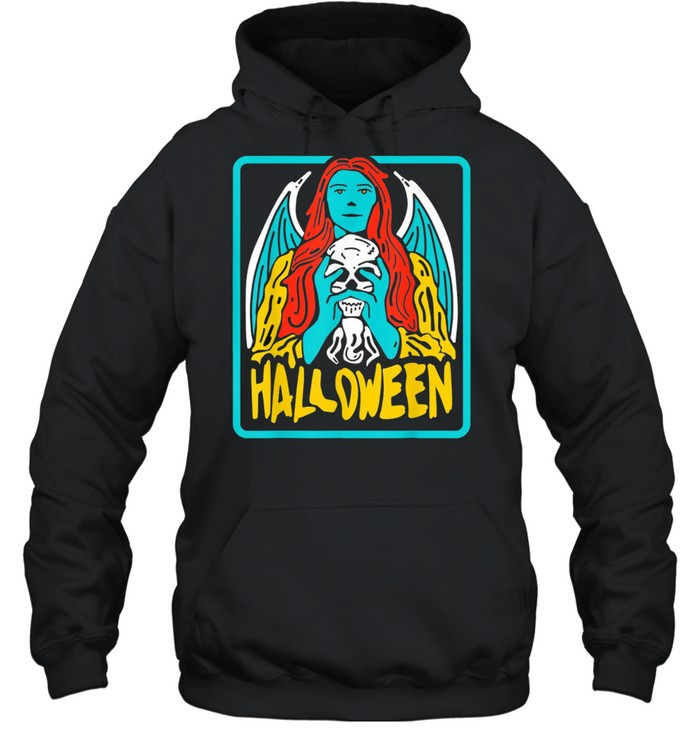 Halloween evil Witch Costume Tarot Card Occult Witchcraft shirt Unisex Hoodie