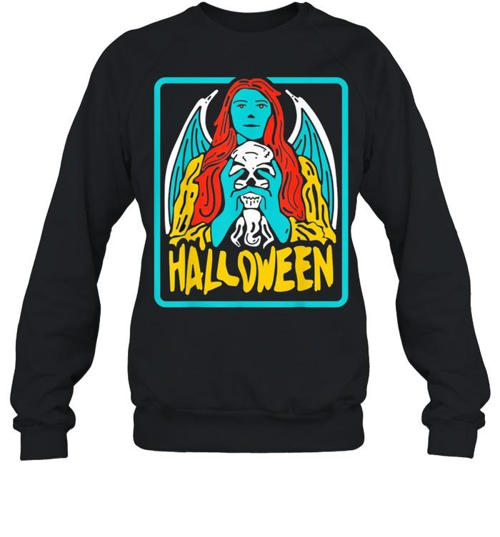 Halloween evil Witch Costume Tarot Card Occult Witchcraft shirt Unisex Sweatshirt