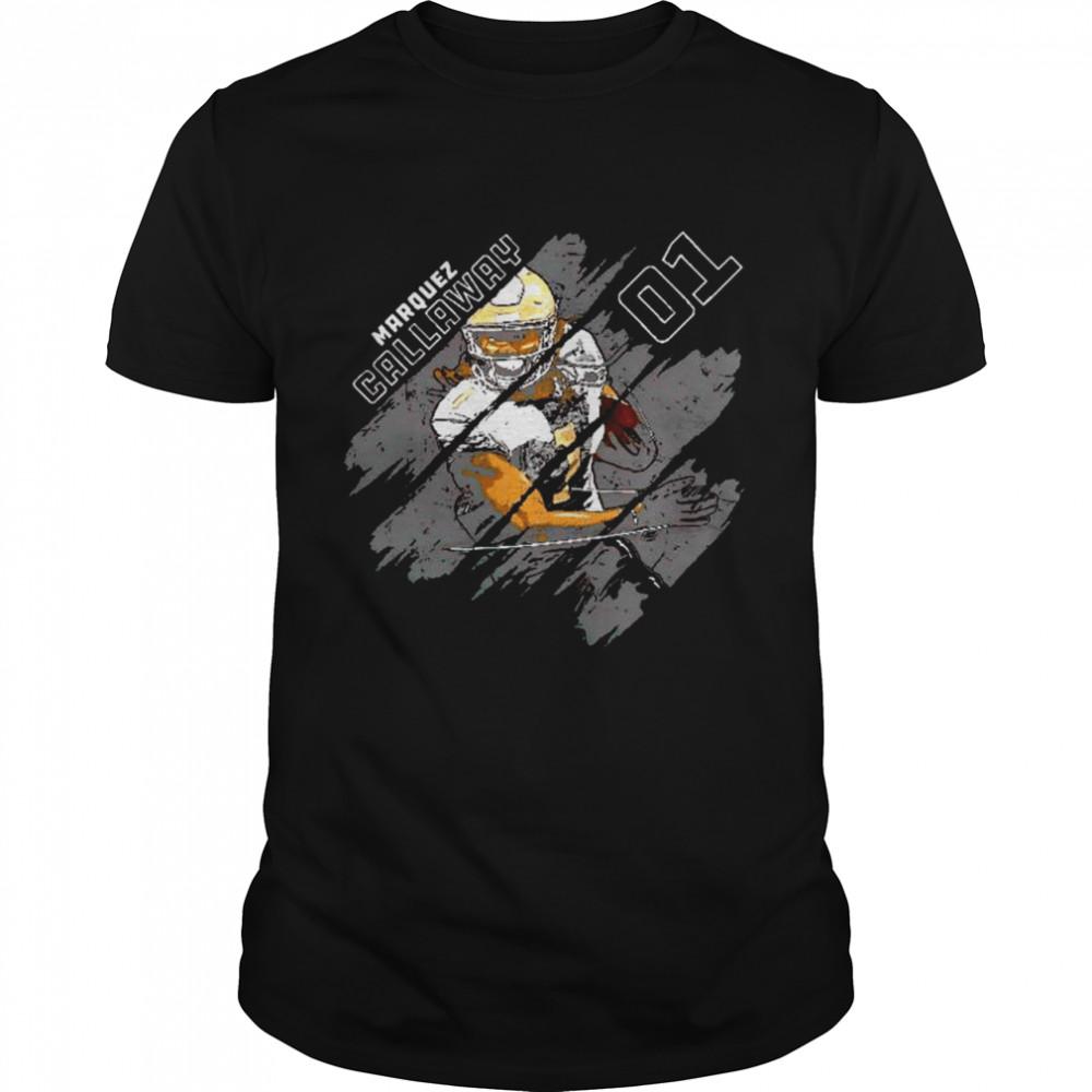 New Orleans Saints Marquez Callaway #1 signature shirt
