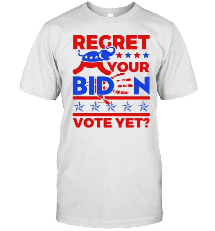 Republican regret your biden vote yet shirt