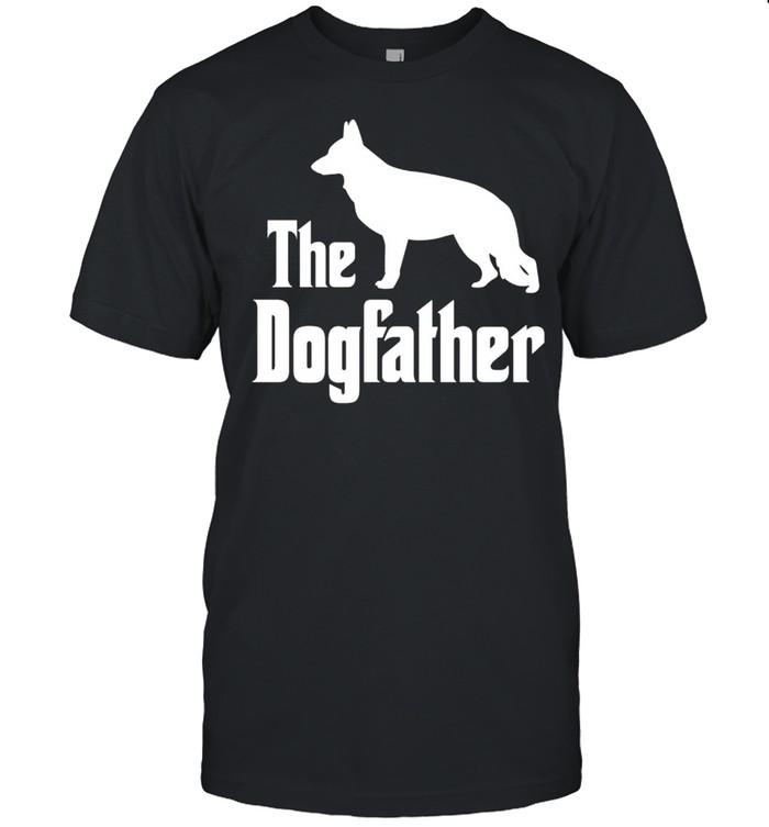 The Dogfather funny dog, German Shepherd shirt