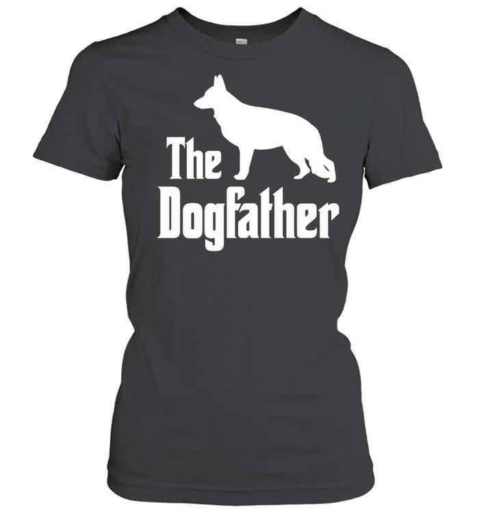 The Dogfather funny dog, German Shepherd shirt Classic Women's T-shirt