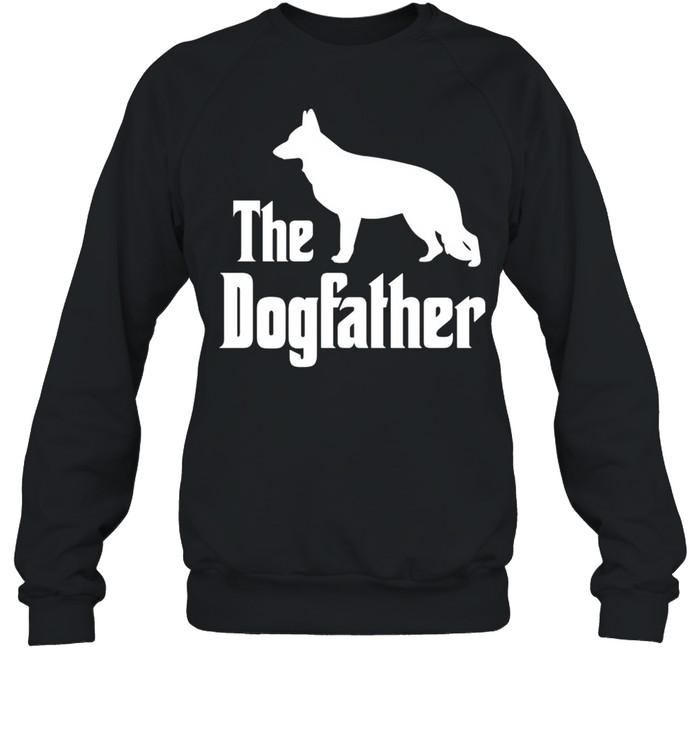 The Dogfather funny dog, German Shepherd shirt Unisex Sweatshirt